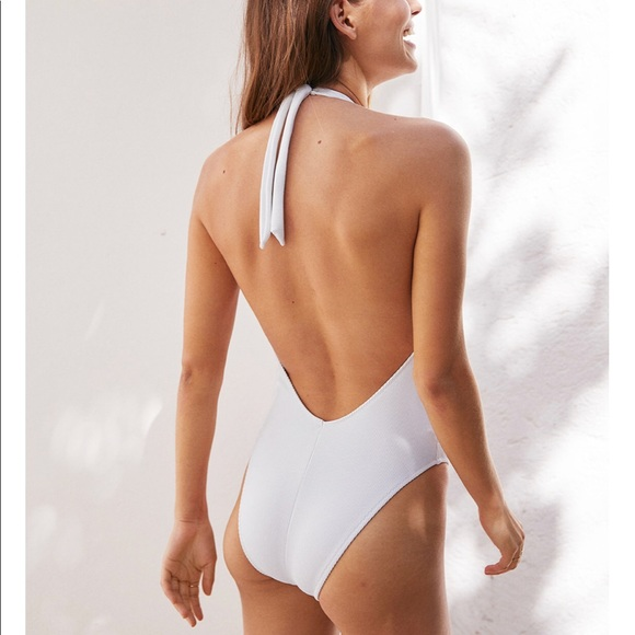 f07181d6336c5 aerie Other - AERIE RIBBED SUPER PLUNGE ONE PIECE SWIMSUIT